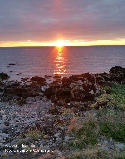 Ustica Spalmatore - tramonto