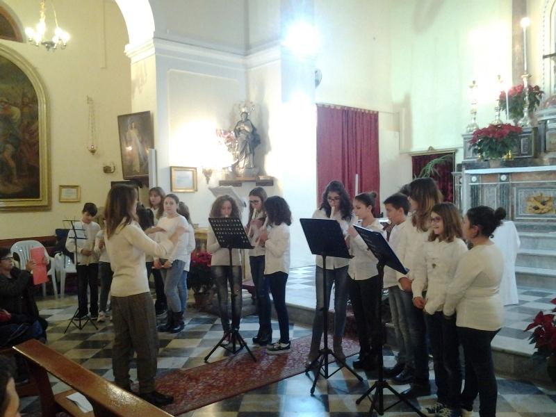 Ustica, concerto di Natale 2015