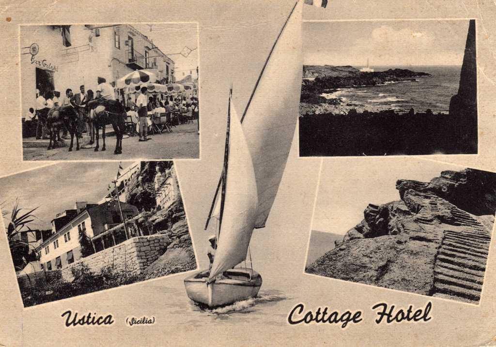 Cartolina  e ricordi di tempi passati