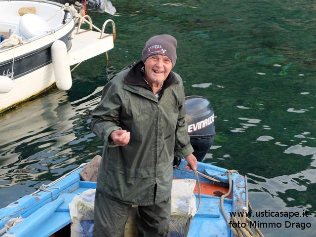 Il Mancino decano dei pescatori