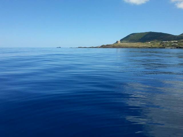 Contrada Spalmatore vista dal mare