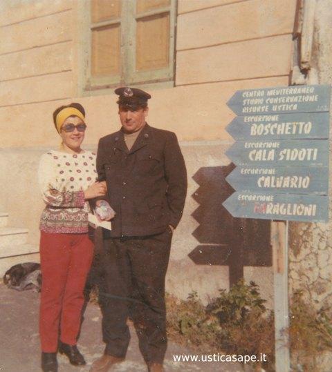 Rosa Mancuso e Sebastiano Spampinato