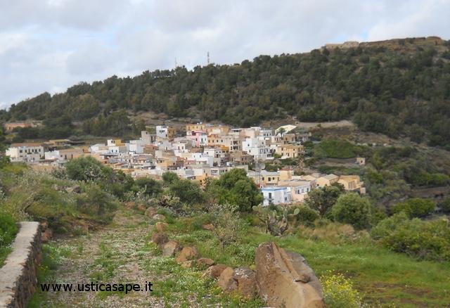 Panorama visto dal cafausu
