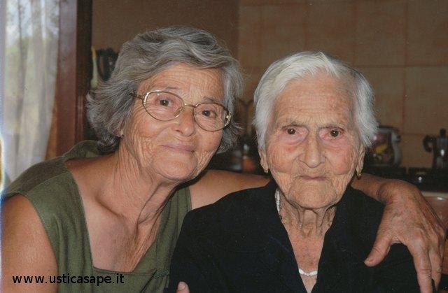 Giulia Castelli e la mamma