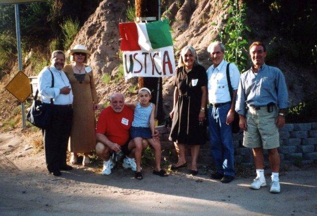in America - orgogliosi di essere italiani provenienti da Ustica
