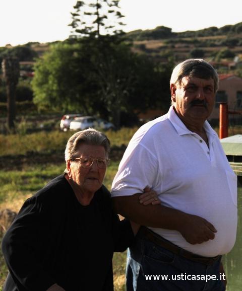Felicetta Bertucci e figlio