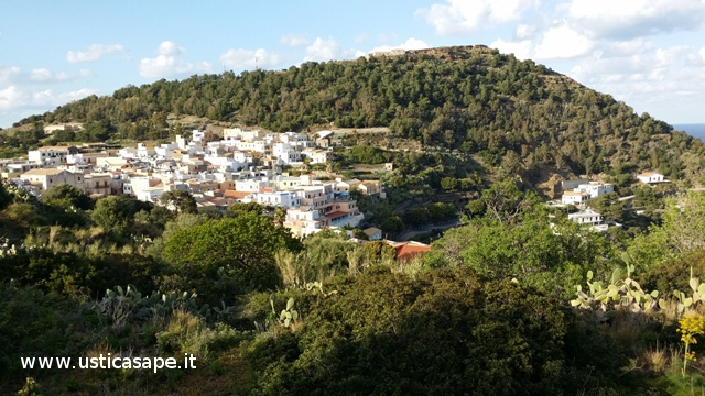 Panorama visto dal Monte Guardia dei Turchi