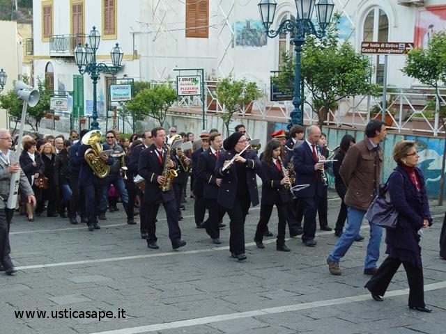 Ustica, Processione di San Giuseppe