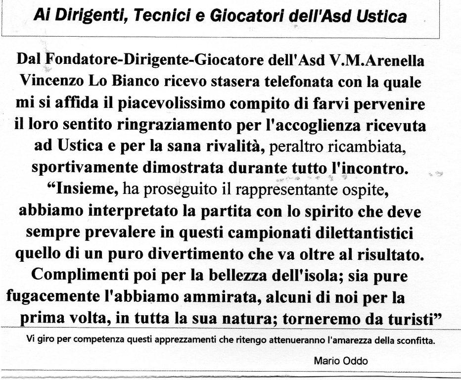 dall'Asd V.M.Arenella