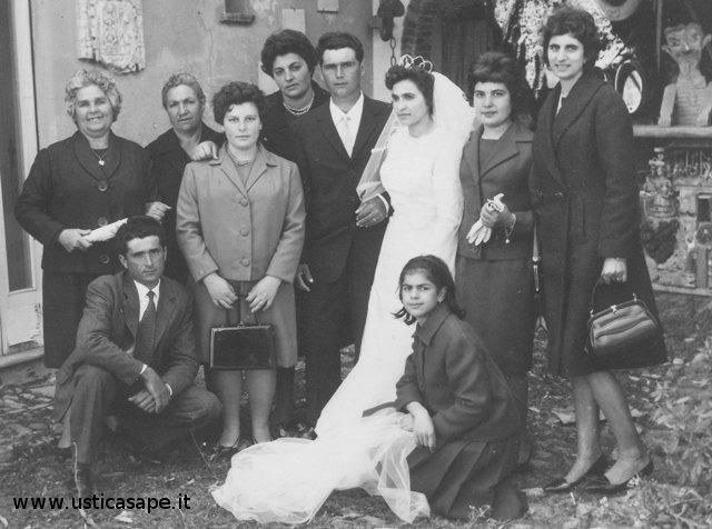 Maria e Nino Palmisano, sposi