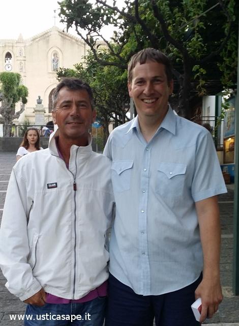 Bartolo e Tom Robershaw amici per caso