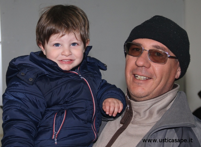 Nonno e nipotino