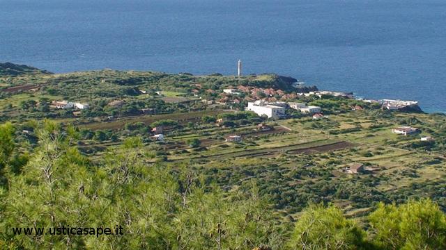 Zona Spalmatore vista da monte Costa del Fallo