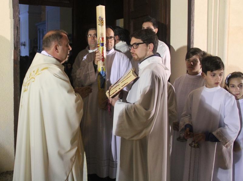 Liturgia accensione Cero Pasqiuale