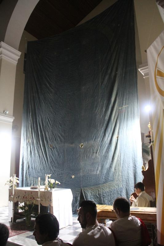 Calata del telo - Gesù Risorto