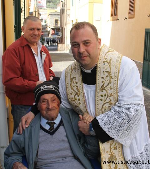 foto con il Parroco