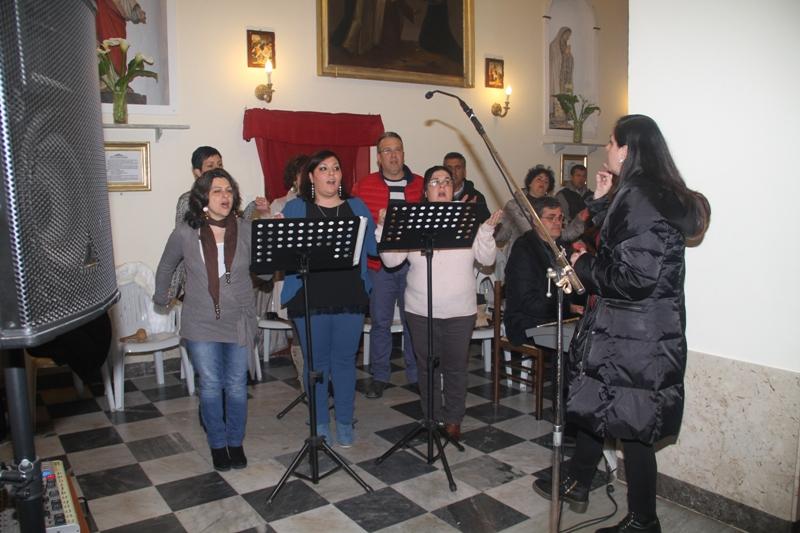 Ustica, coro parrocchiale