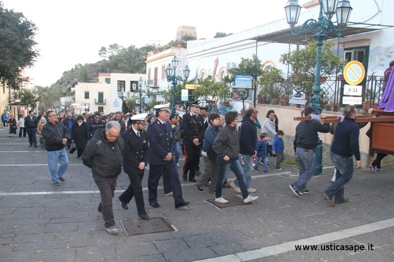 Ustica, Processione Venerd