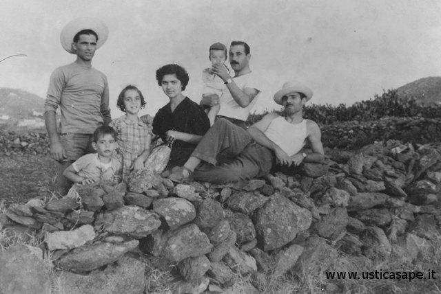 Famiglia Palmisani - gita in campagna