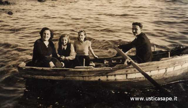 Ustica, gita in barca 1941