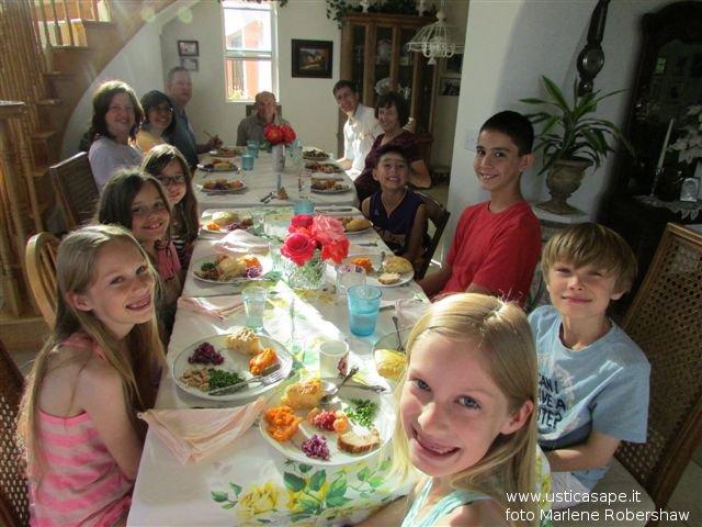 Pasqua in famiglia a casa Robershaw a San Diego CA