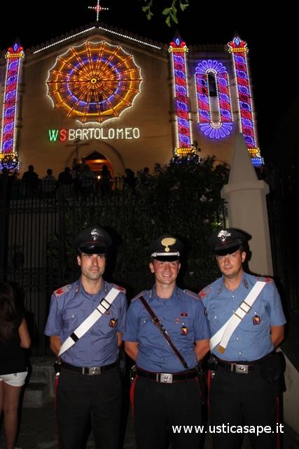 San Bartolomeo - Carabinieri in servizio
