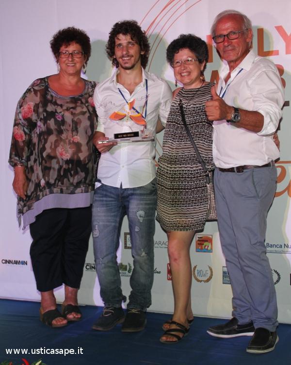 foto ricordo del Sicily Web Fest Ustica