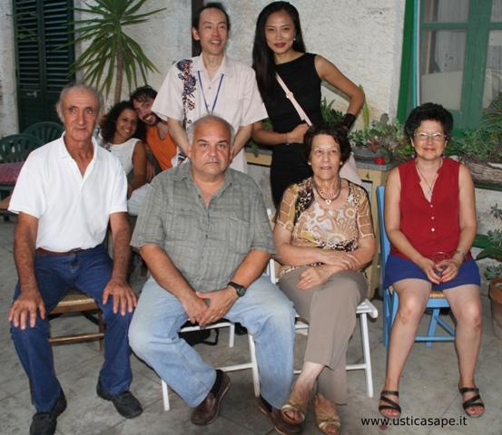 Foto ricordo festeggiamenti Sicily web Fest Ustica
