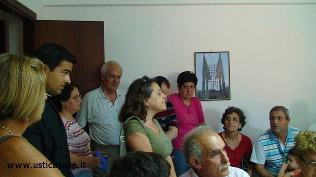 Incontro al comune di Ustica 17-07-2010