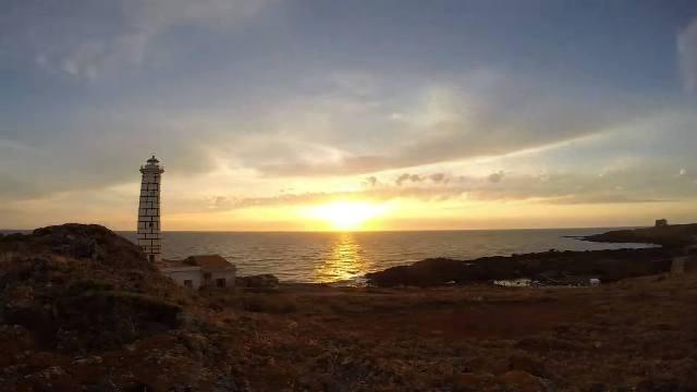 Spettacolare zona spalnatore al tramonto