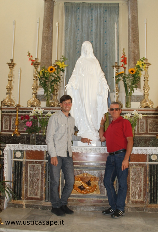 Foto con la Madonna dei Pescatori