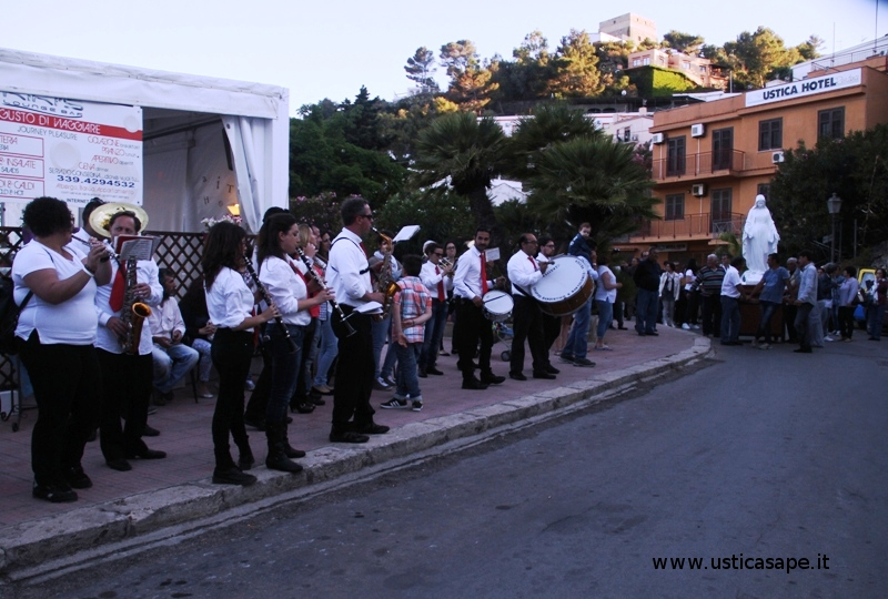 Banda Musicale al seguito della processione