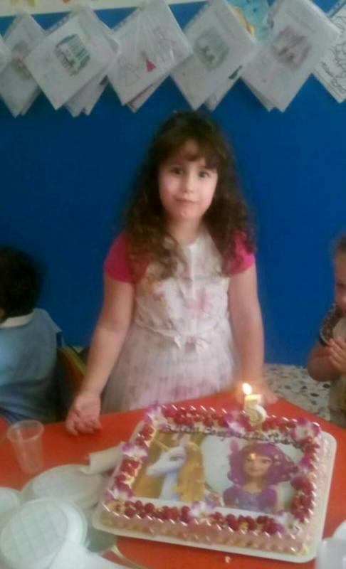 Gloria Mattina festeggia il suo quinto compleanno