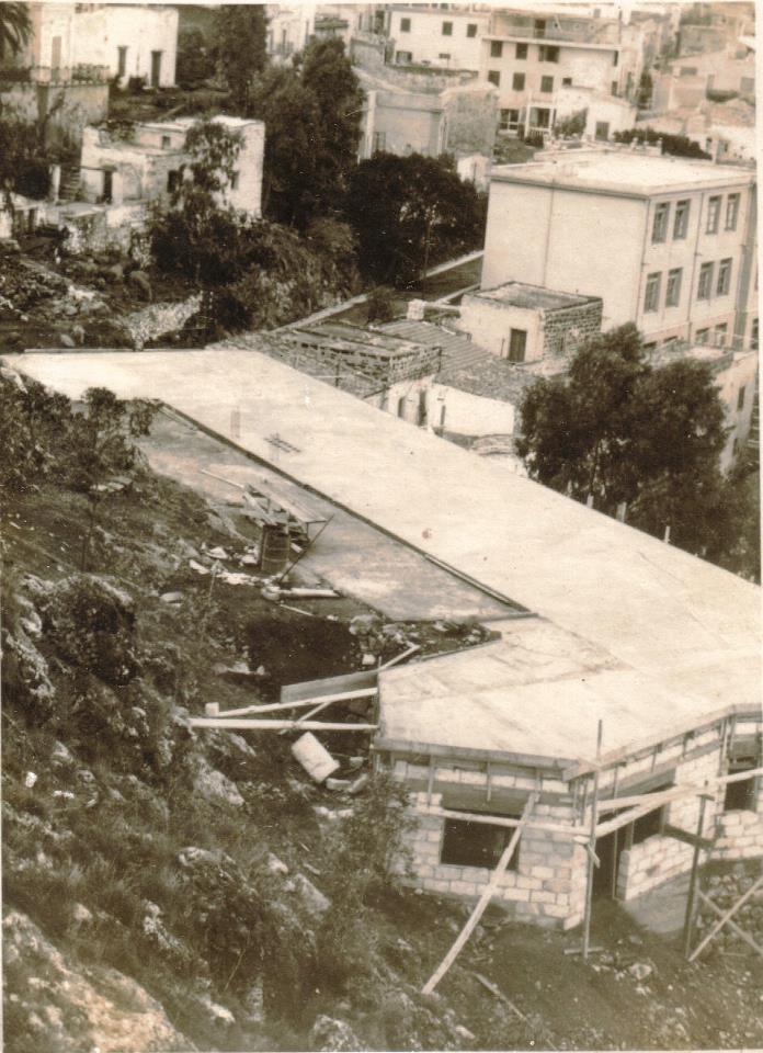 Ustica, Costruzione del Residence  Le Terrazze