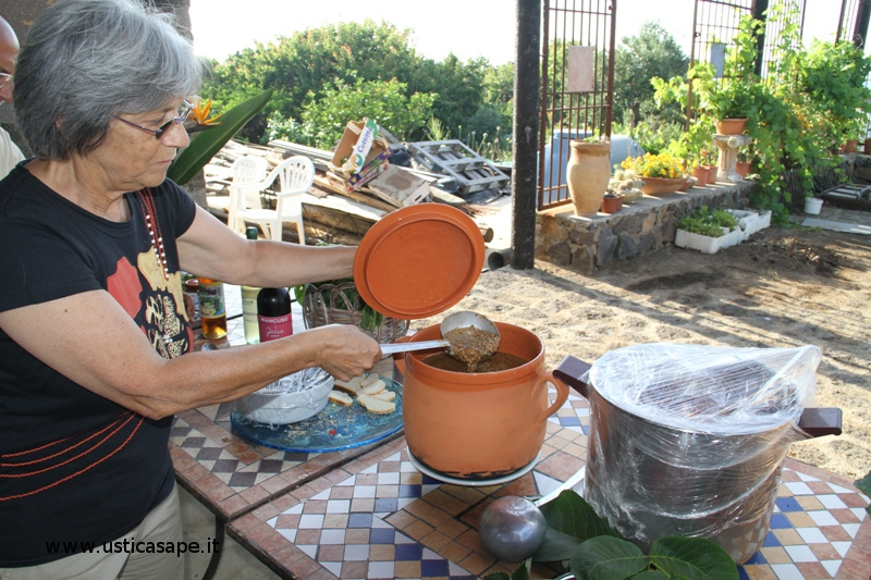 Distribuzione e degustazione lenticchie lenticchie di Ustica