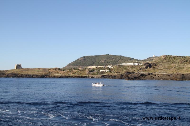 Zona Spalmatore vista dal mare