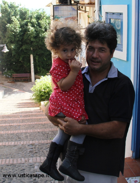 Papa'  con figlia