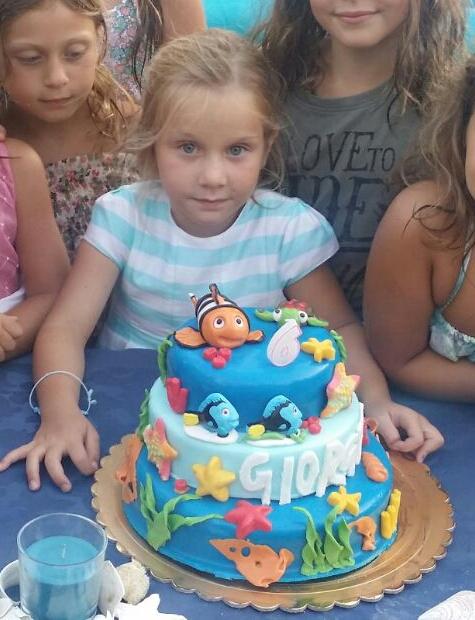 sesto compleanno Giorgia