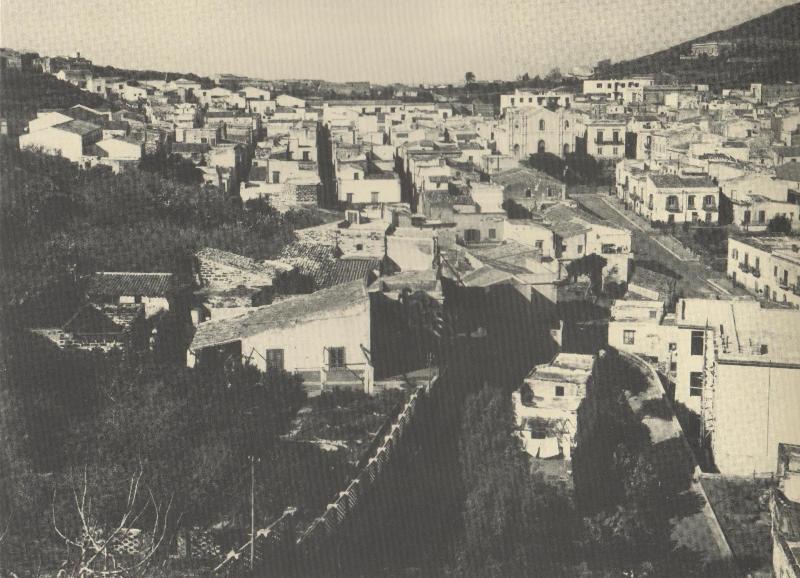 veduta paese  1950
