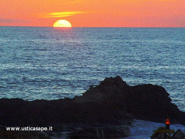 Ustica, tramonto