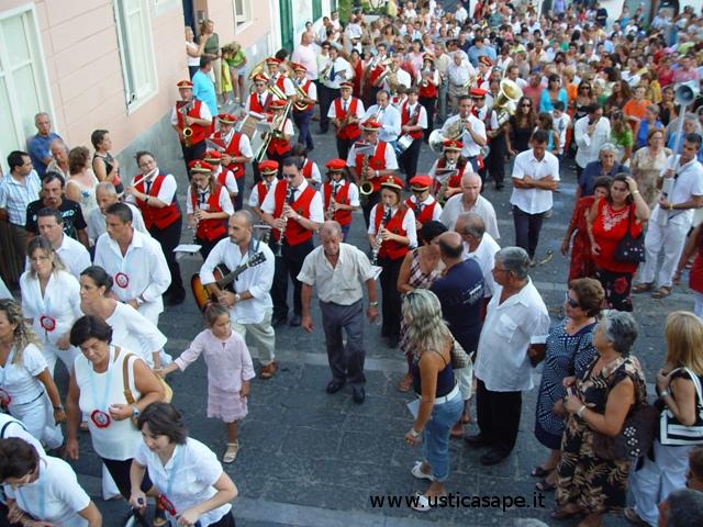 San Bartolomeo 2006 - Banda Musicale a seguito della processione