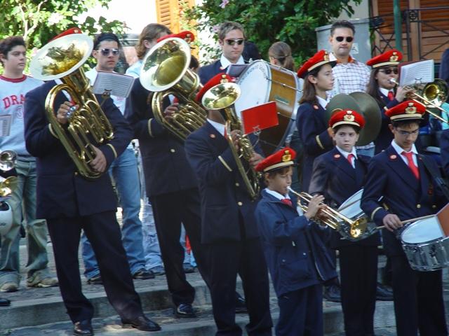 Banda musicale  Celebrazione 4 novembre 2003