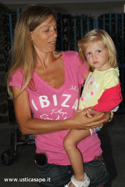 mamma Gabriella con  la bella figlia