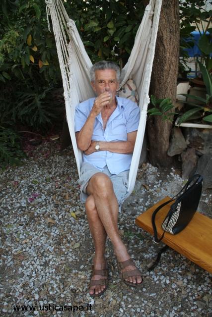 un po' di relax per il prof. Longo.
