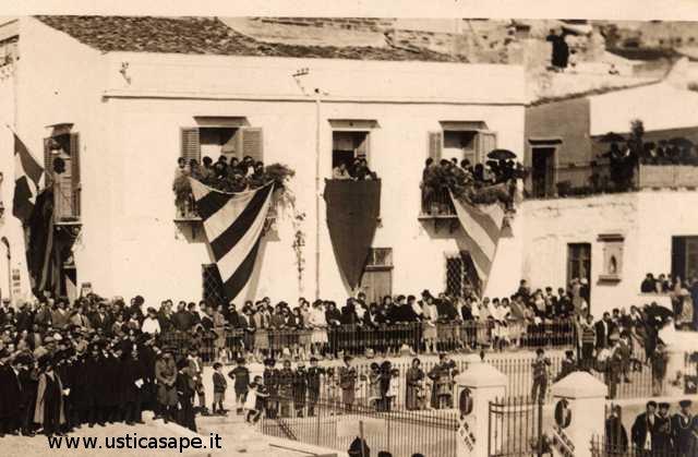 Addobbi per cerimonie dell'epoca 1929