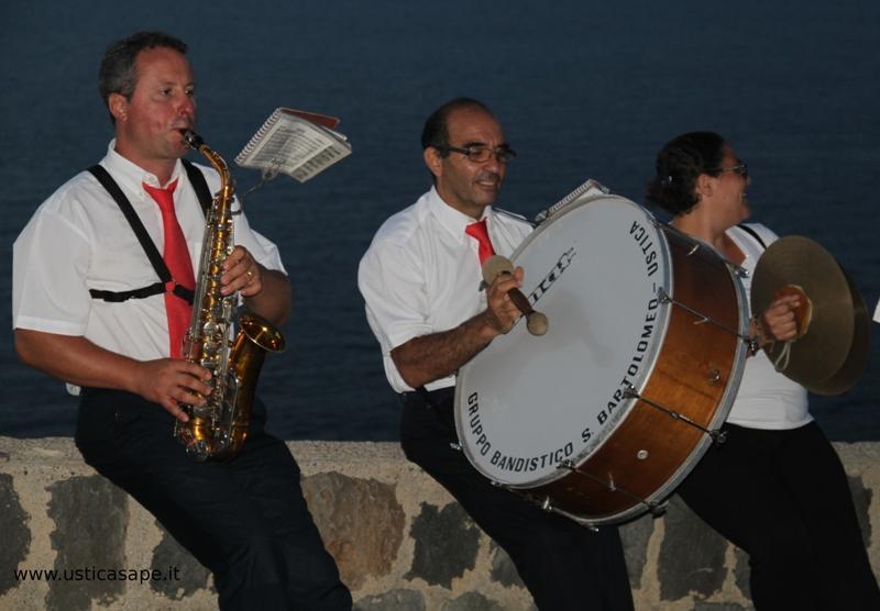 tre componenti la banda musicale