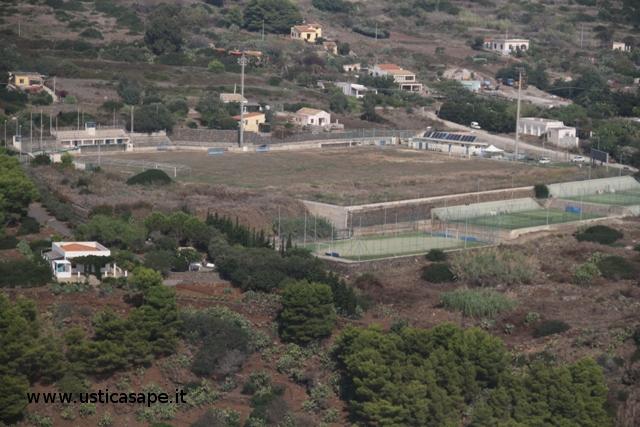 Ustica, campo sportivo