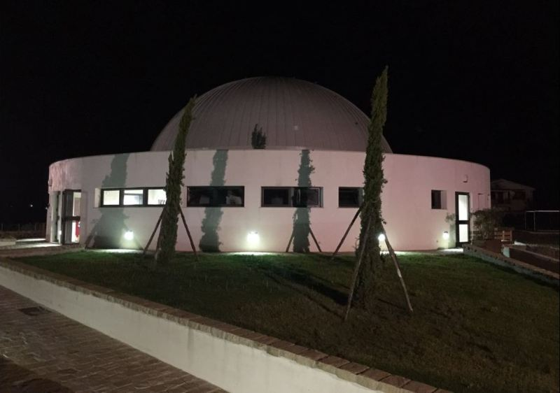 Il grande Planetario del Parco Astronomico