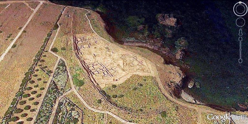 Villaggio Faraglioni da satellite