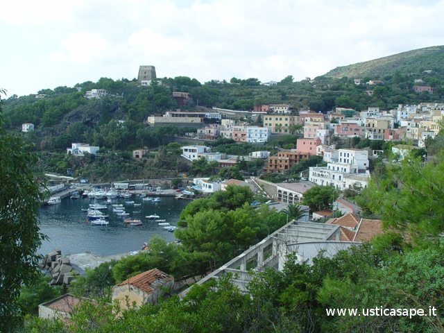 Ustica, foto panoramica